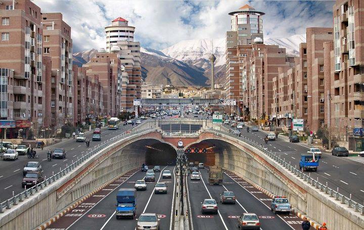 مقاله شهرسازی ومشکلات شهر تهران