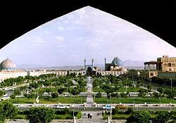 تخریب بینشانها در اصفهان