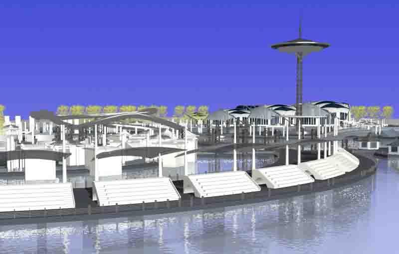 دریاچه شهدای خلیج فارس آماده افتتاح