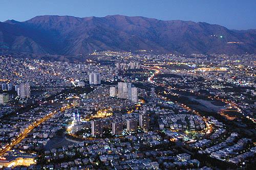 کنترل هوشمند حریم تهران