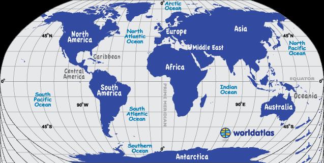 فایل اتوکد نقشه کل جهان