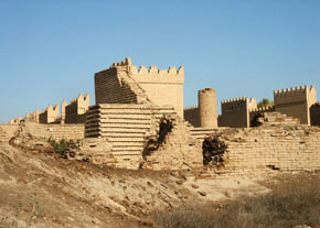 بازسازی شهر تاریخی بابل