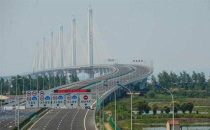 افتتاح طولانی ترین پل کابلی دنیا + عکس
