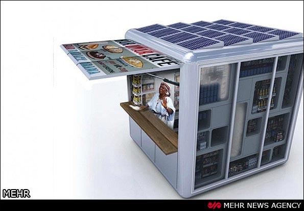 تصاویری از اولین فروشگاه خورشیدی جهان