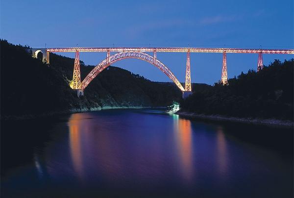پل راهآهن گارابیت فرانسه