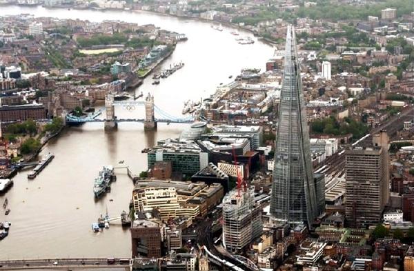 آشنایی با برج شارد لندن – بریتانیا