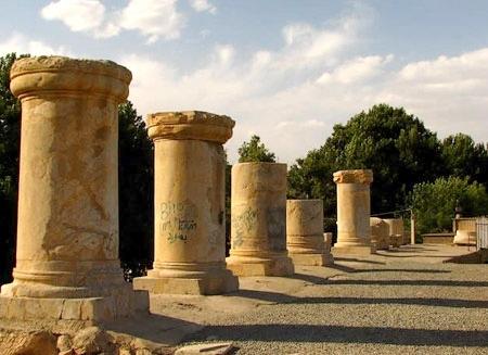 معبد آناهیتای کنگاور کرمانشاه