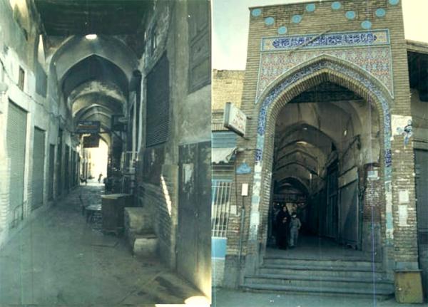 بازار شیخ علاءالدوله سمنان