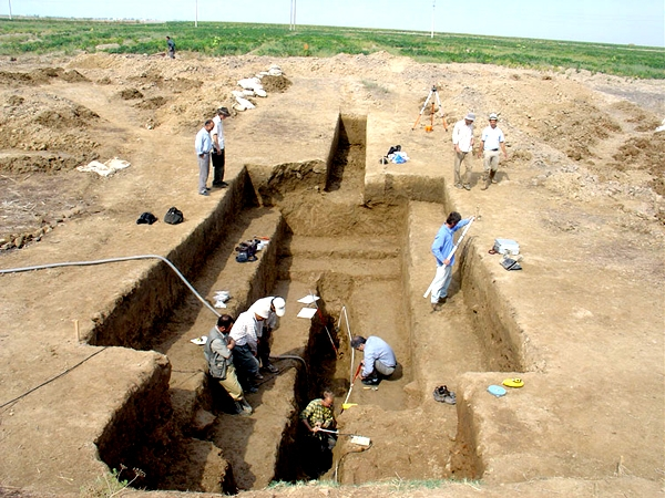 دیوار تاریخی گرگان گلستان
