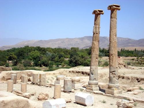 محوطه تاریخی خورهه مرکزی