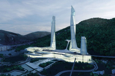 مرکز تجارت جهانی پنانگ مالزی