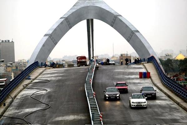 پل سه پایه جوادیه تهران