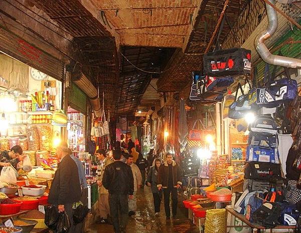 بازار قدیمی سقز کردستان