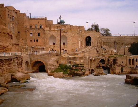 شهر تاریخی شوشتر خوزستان