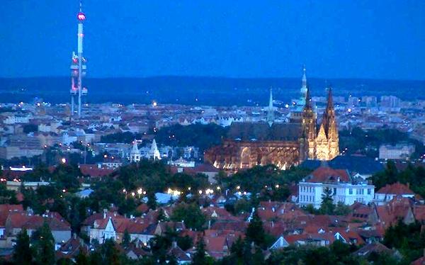 برج تلویزیونی ژیژکوف جمهوری چک