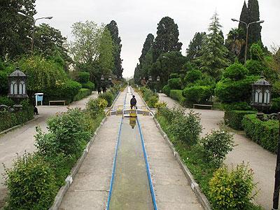 باغ چهلستون اشرف مازندران