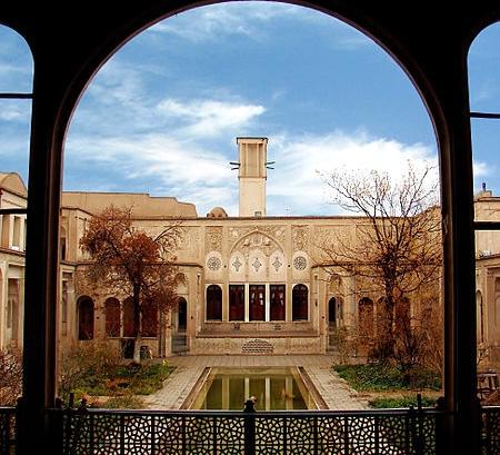 خانه بروجردیهای کاشان – اصفهان