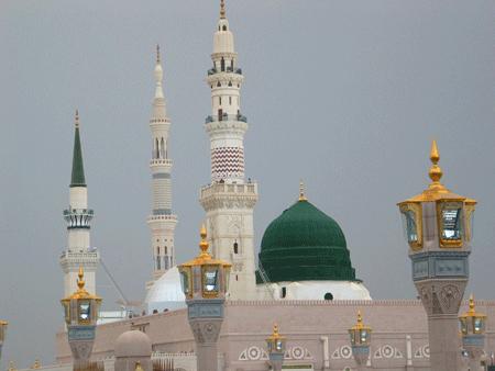 مسجد النبى (ص) مدینه