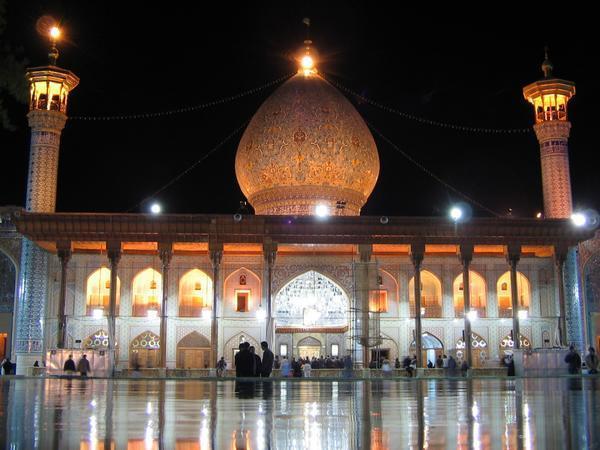 معماری اسلامی حرم شاهچراغ (ع)