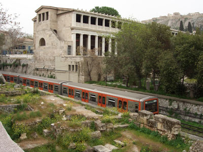 مترو آتن یونان