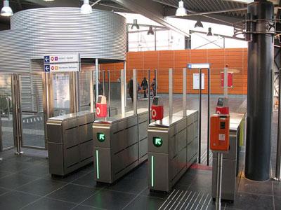 مترو بروکسل بلژیک