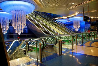 مترو دوبی امارات متحده عربی