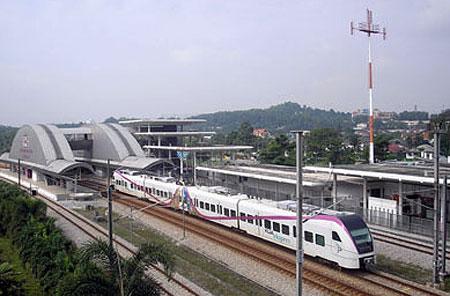 مترو کوالالامپور مالزی
