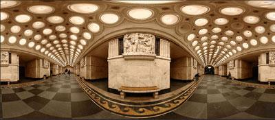 مترو مسکو روسیه