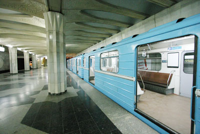 مترو تاشکند ازبکستان