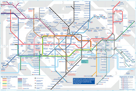مترو لندن بریتانیا