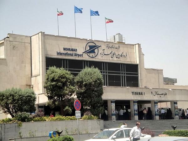 فرودگاه مهرآباد ایران