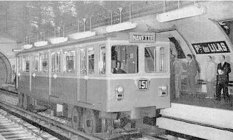 استفاده از چرخهای لاستیکی در قطارهای مترو