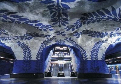 مترو استکهلم سوئد