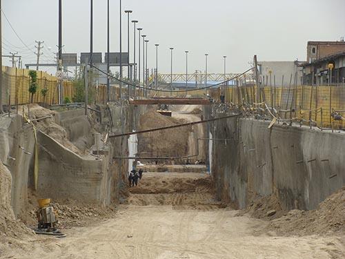 خط ریلی تهران به زیر زمین