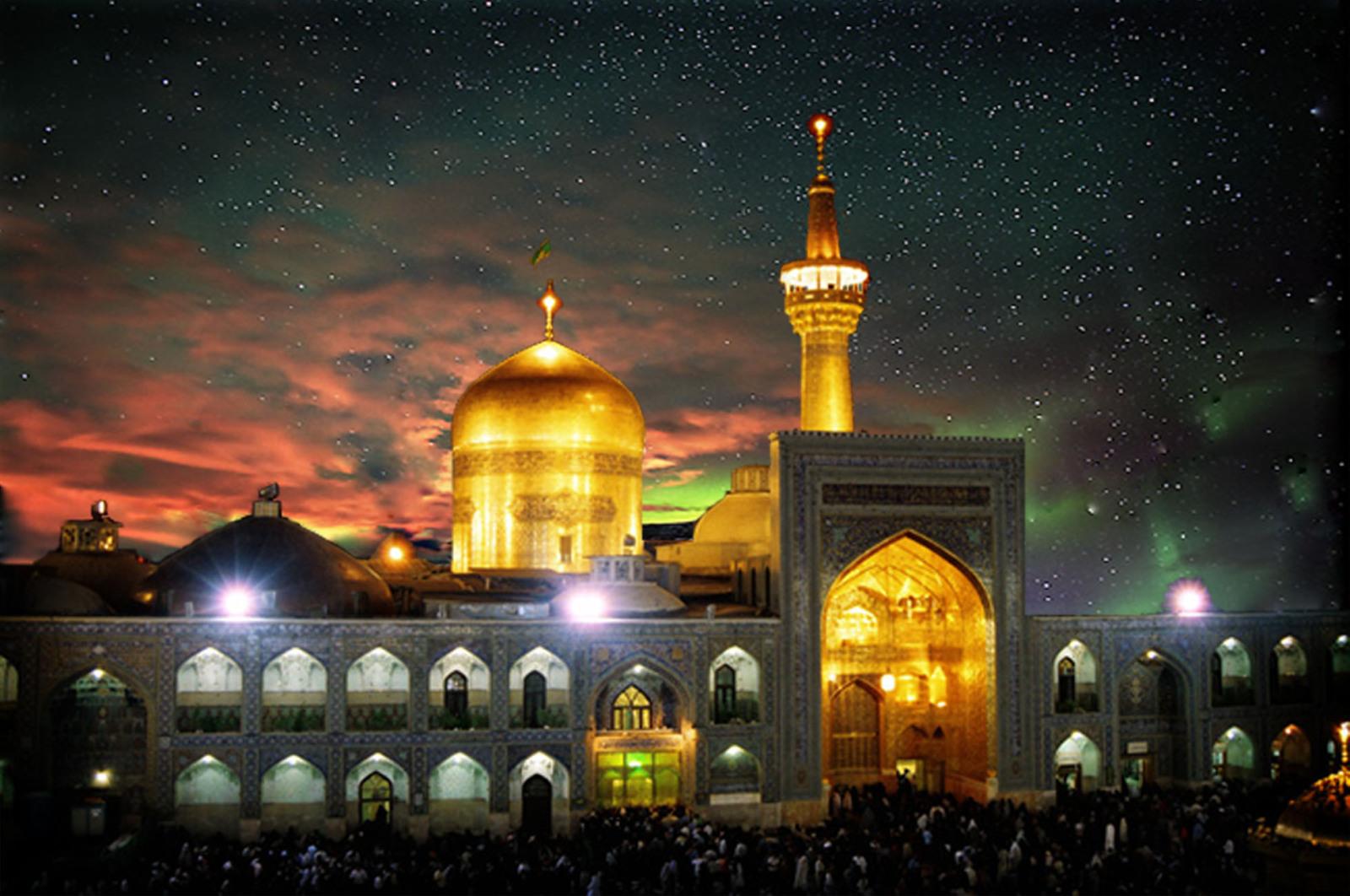 حرم رضوی،معماری اسلامی