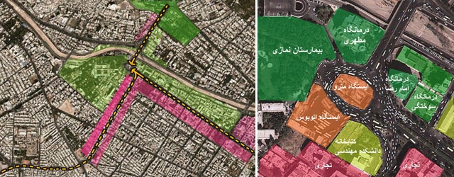 فلکه نمازی شیراز: تمرکز، اختلاط و سوداگری