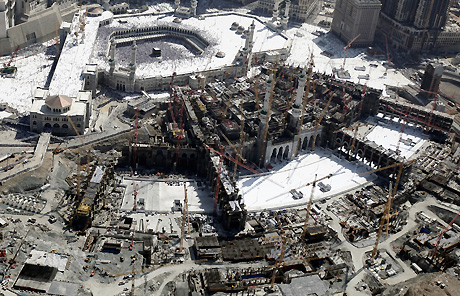 شهرسازی، تهدیدی برای تاریخ مکه