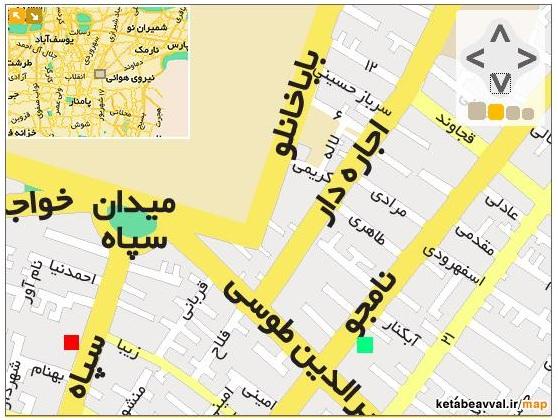 فایل اتوکد منطقه ۷ تهران (میدان نامجو)