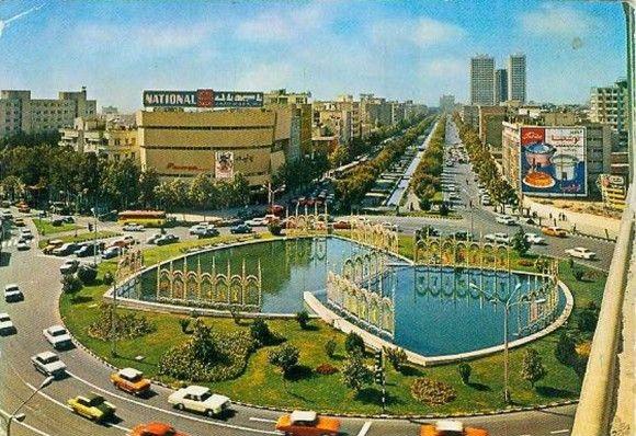 فایل اتوکد منطقه ۶ تهران (میدان ولیعصر)