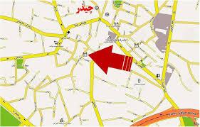 فایل اتوکد منطقه ۱ تهران (چیذر)