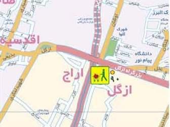 فایل اتوکد منطقه ۱ تهران (ازگل)