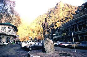 فایل اتوکد منطقه ۱ تهران (میدان دربند)