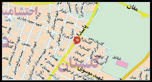 فایل اتوکد منطقه ۴ و ۳ تهران (پاسداران)