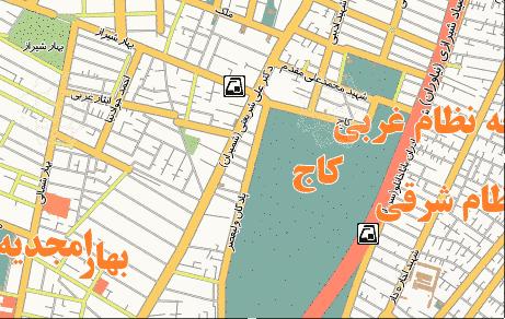 فایل اتوکد منطقه ۷ تهران (خیابان شریعتی – باغ صفا)
