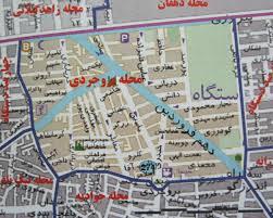 فایل اتوکد منطقه ۱۴ تهران (میدان بروجردی)