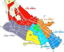 فایل اتوکد شهر شیراز (نقشه کامل شهر)