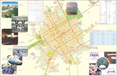فایل اتوکد شهر زابل (نقشه کامل+کاربری)