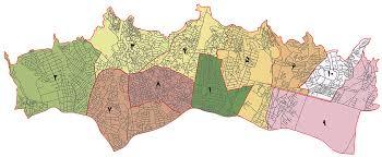 نقشه کامل منطقه ۱ شهرداری تهران