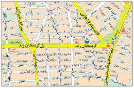 فایل اتوکد منطقه ۶ و ۷ تهران (میدان هفت تیر)
