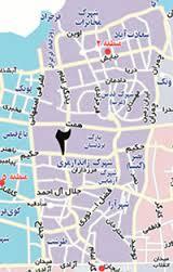 فایل اتوکد منطقه ۲ تهران (نقشه کامل منطقه)